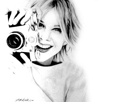 Meg Ryan par PencilPerfect